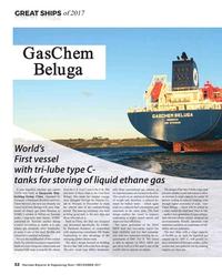 Maritime Reporter Magazine, page 32,  Dec 2017