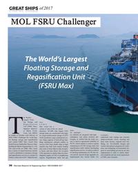 Maritime Reporter Magazine, page 36,  Dec 2017