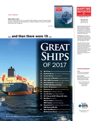 Maritime Reporter Magazine, page 4,  Dec 2017