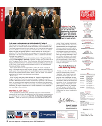 Maritime Reporter Magazine, page 6,  Dec 2017