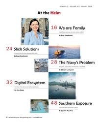 Maritime Reporter Magazine, page 2,  Jan 2018