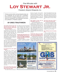 Maritime Reporter Magazine, page 41,  Jan 2018