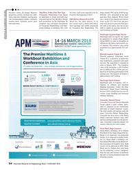 Maritime Reporter Magazine, page 54,  Jan 2018