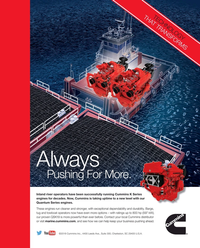 Maritime Reporter Magazine, page 3rd Cover,  Jan 2018