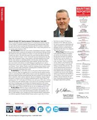 Maritime Reporter Magazine, page 6,  Jan 2018