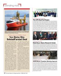 Maritime Reporter Magazine, page 10,  Feb 2018