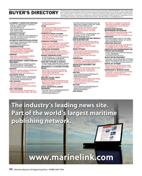 Maritime Reporter Magazine, page 74,  Feb 2018