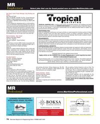 Maritime Reporter Magazine, page 76,  Feb 2018