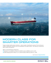 Maritime Reporter Magazine, page 3rd Cover,  Feb 2018