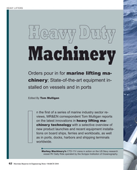 Maritime Reporter Magazine, page 62,  Mar 2018