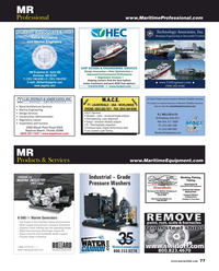 Maritime Reporter Magazine, page 77,  Mar 2018