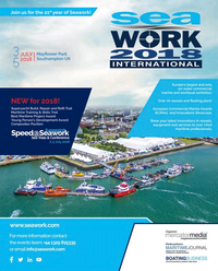 Maritime Reporter Magazine, page 3rd Cover,  Apr 2018