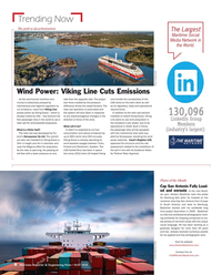 Maritime Reporter Magazine, page 8,  May 2018