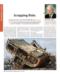 Maritime Reporter Magazine, page 12,  May 2018