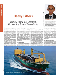 Maritime Reporter Magazine, page 14,  May 2018
