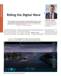 Maritime Reporter Magazine, page 16,  May 2018