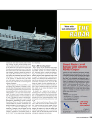Maritime Reporter Magazine, page 23,  May 2018