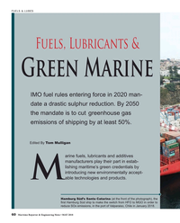 Maritime Reporter Magazine, page 60,  May 2018