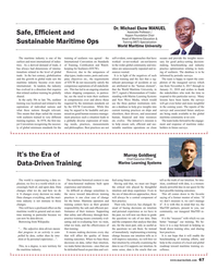 Maritime Reporter Magazine, page 67,  May 2018