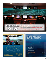 Maritime Reporter Magazine, page 69,  May 2018