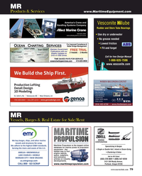 Maritime Reporter Magazine, page 79,  May 2018