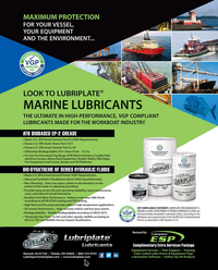Maritime Reporter Magazine, page 3rd Cover,  May 2018