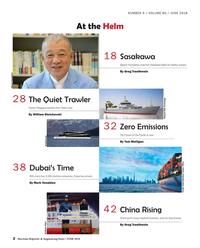 Maritime Reporter Magazine, page 2,  Jun 2018