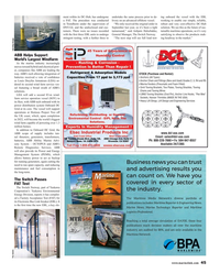 Maritime Reporter Magazine, page 45,  Jun 2018