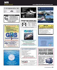 Maritime Reporter Magazine, page 61,  Jun 2018