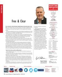 Maritime Reporter Magazine, page 6,  Jun 2018
