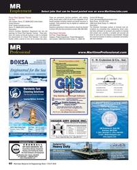 Maritime Reporter Magazine, page 60,  Jul 2018