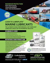 Maritime Reporter Magazine, page 4th Cover,  Jul 2018