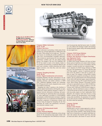 Maritime Reporter Magazine, page 106,  Aug 2018