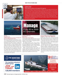 Maritime Reporter Magazine, page 114,  Aug 2018