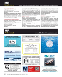 Maritime Reporter Magazine, page 124,  Aug 2018