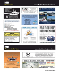 Maritime Reporter Magazine, page 125,  Aug 2018