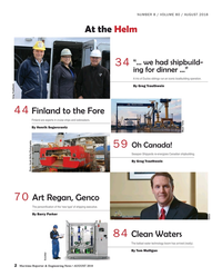 Maritime Reporter Magazine, page 2,  Aug 2018