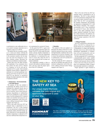 Maritime Reporter Magazine, page 79,  Aug 2018