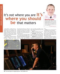 Maritime Reporter Magazine, page 14,  Sep 2018