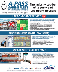 Maritime Reporter Magazine, page 2nd Cover,  Sep 2018