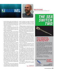 Maritime Reporter Magazine, page 21,  Sep 2018