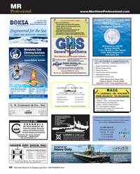 Maritime Reporter Magazine, page 60,  Sep 2018
