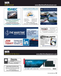 Maritime Reporter Magazine, page 61,  Sep 2018
