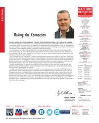 Maritime Reporter Magazine, page 6,  Sep 2018