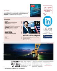 Maritime Reporter Magazine, page 8,  Oct 2018