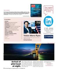 Maritime Reporter Magazine, page 8,  Oct 2018