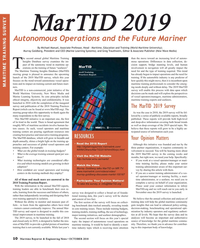 Maritime Reporter Magazine, page 10,  Oct 2018