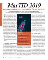 Maritime Reporter Magazine, page 10,  Oct 2018
