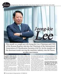 Maritime Reporter Magazine, page 16,  Oct 2018