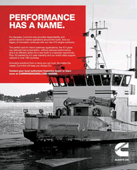 Maritime Reporter Magazine, page 2nd Cover,  Oct 2018